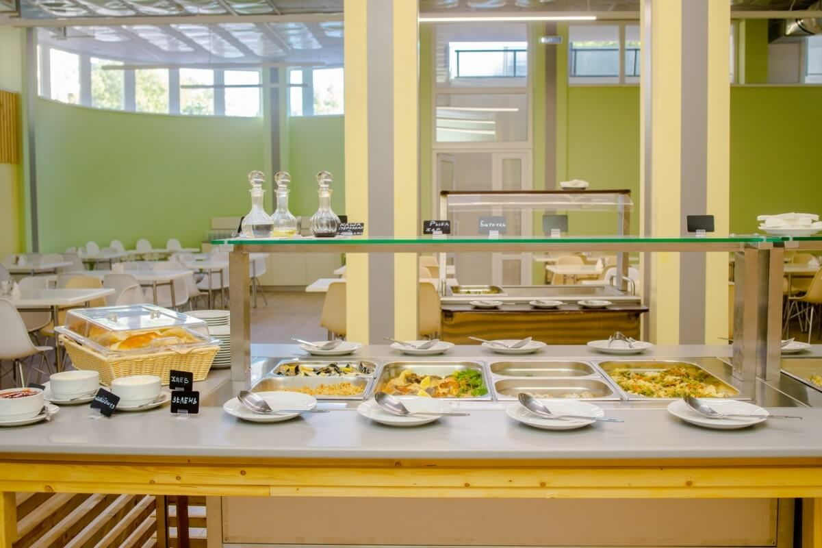 Фото столовой отеля Ателика Гранд Оазис