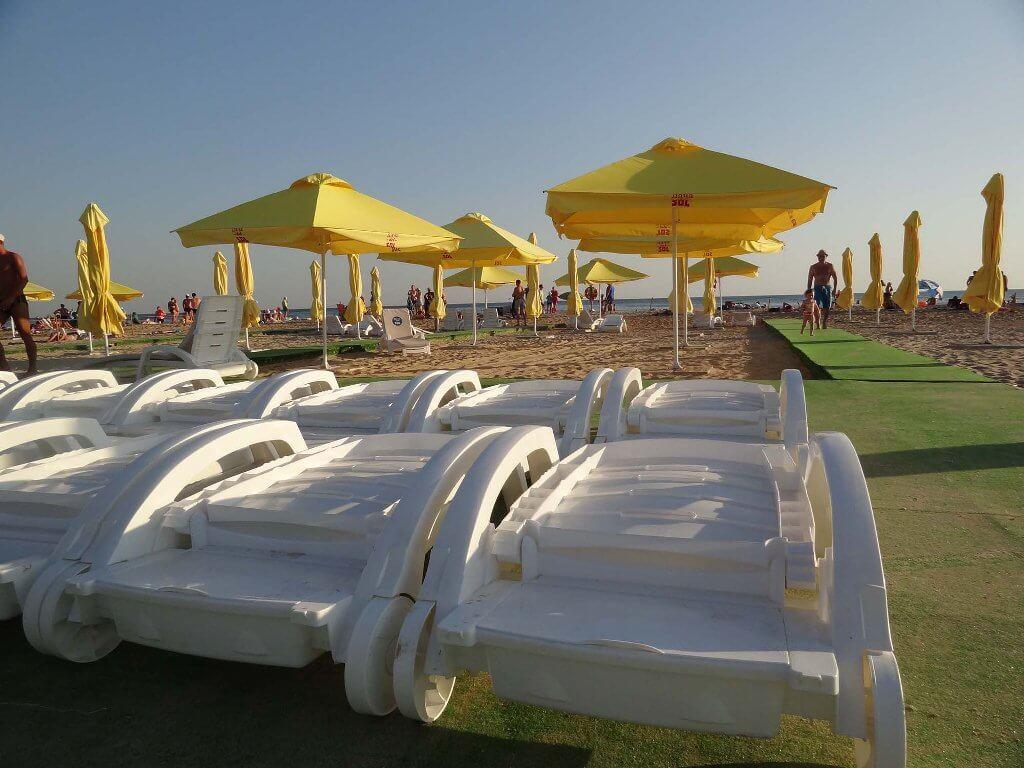 Фото пляжа отеля Dacha del Sol (Витязево)
