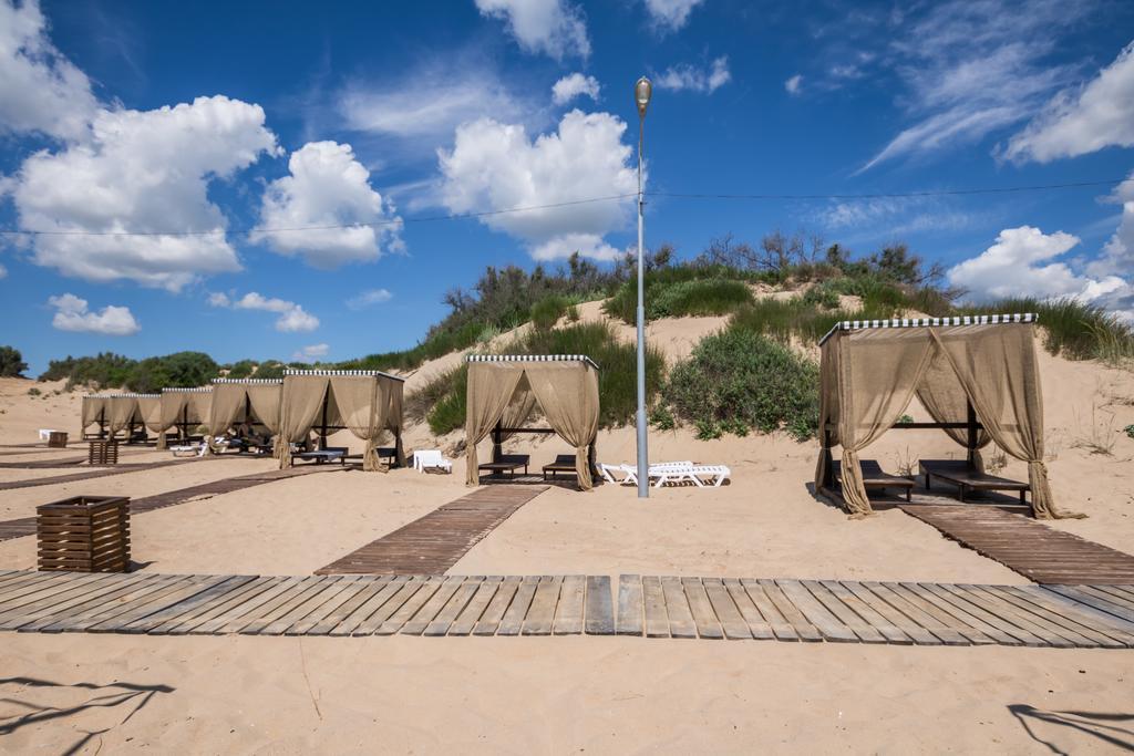 Фото частного пляжа «Лазурный берег» в Джемете