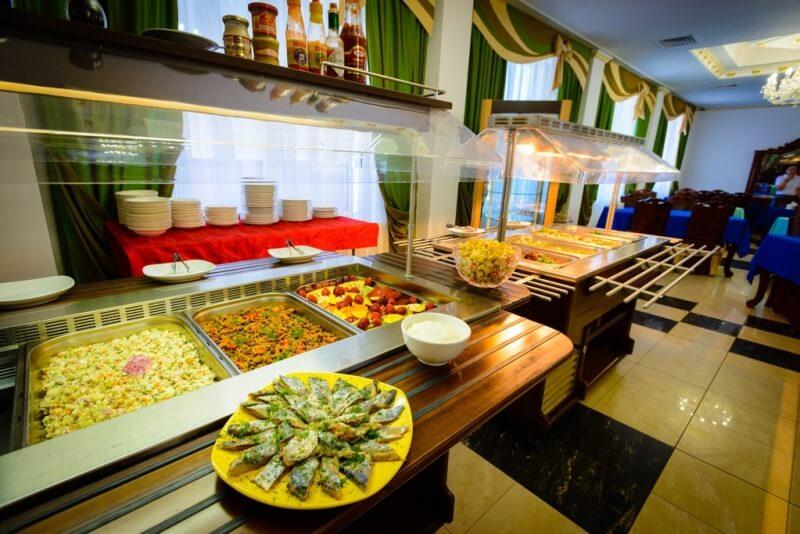 Фото ресторана в «Приморье Deluxe»