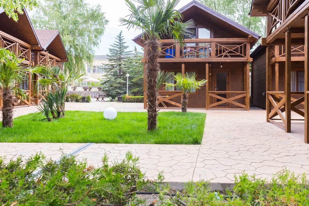 Славянка - отель в Анапе с системой все включено и со своим пляжем