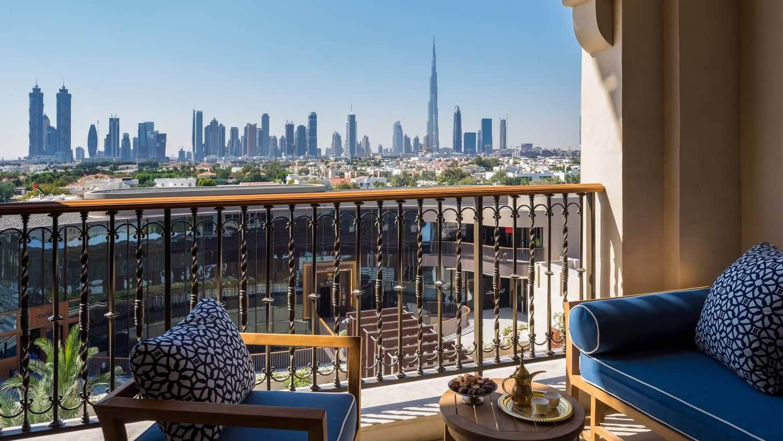 Four Seasons Resort Dubai - лучший пляжный отель на пляже Джумейра