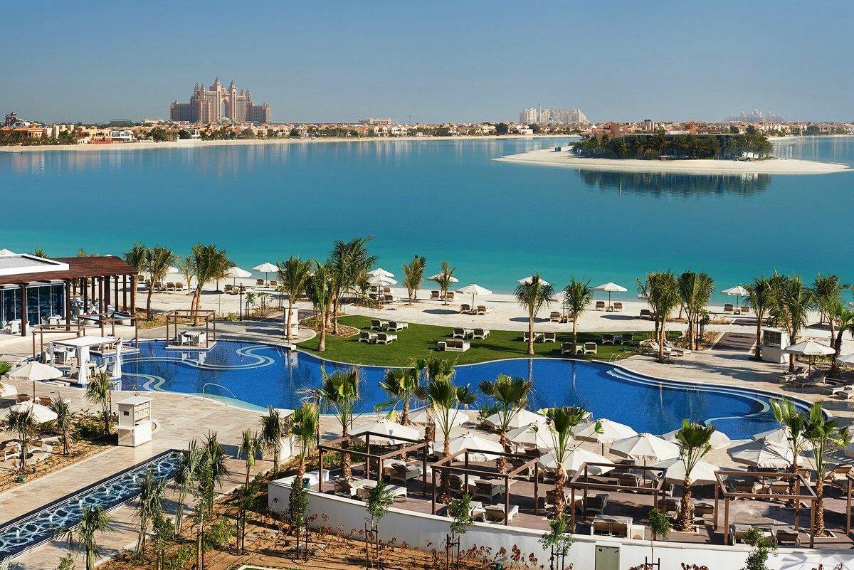 Waldorf Astoria - отличный пятизвездочный отель на первой линии в Дубае