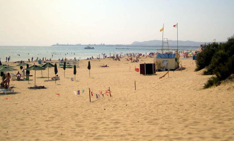 Фото пляжа детского лагеря «Уральские самоцветы»