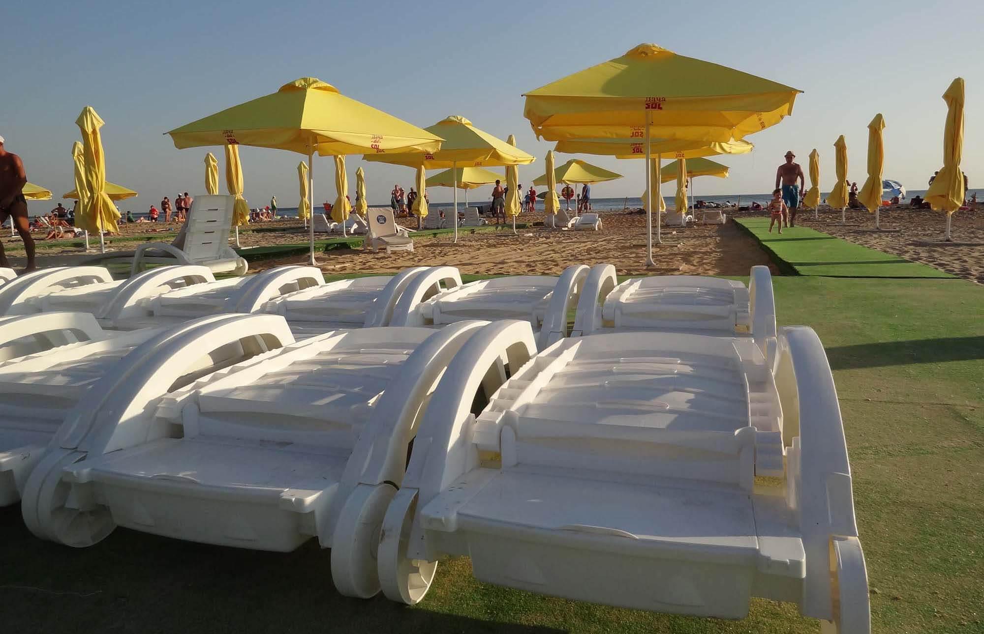 Фото пляжа отеля Dacha del Sol