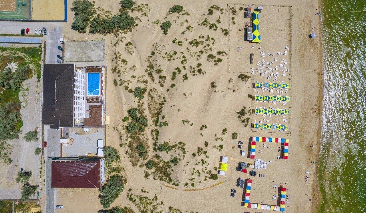 Фото пляжа отеля La Melia