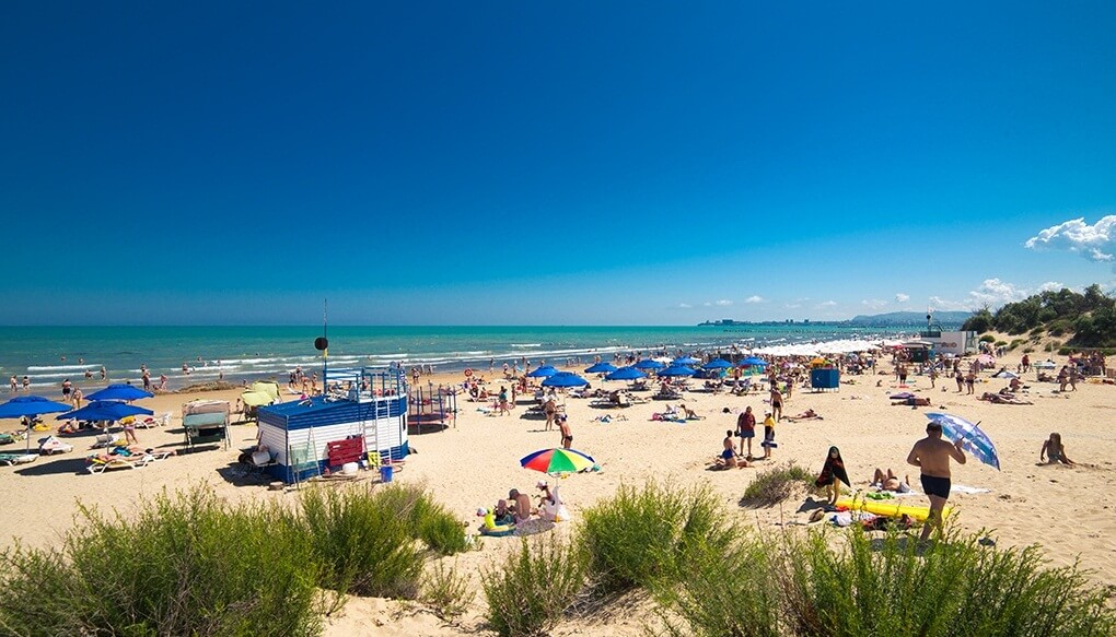 Фото пляжа пансионата «Одиссея»