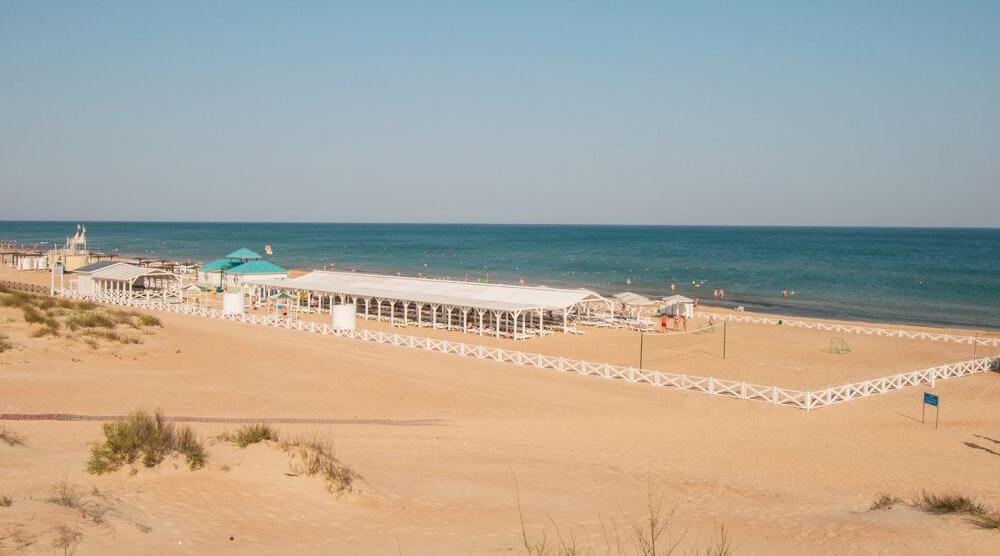 Фото пляжа пансионата «Селена»