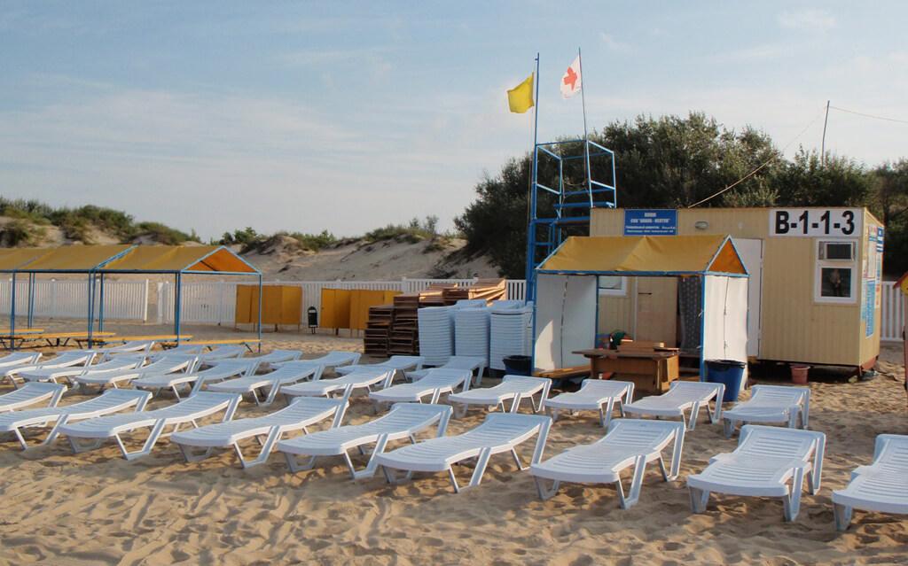 Фото пляжа санатория «Анапа-Нептун»