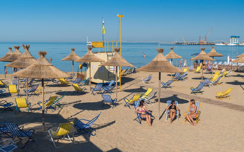 Фото пляжа санатория «Анапа»