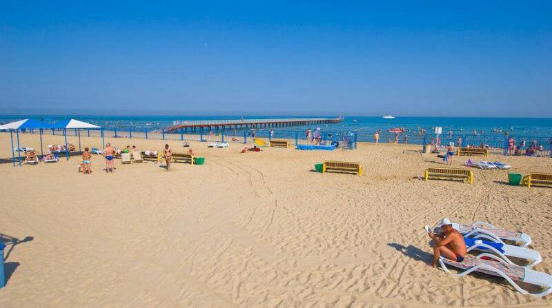 Фото пляжа санатория «Эллада»