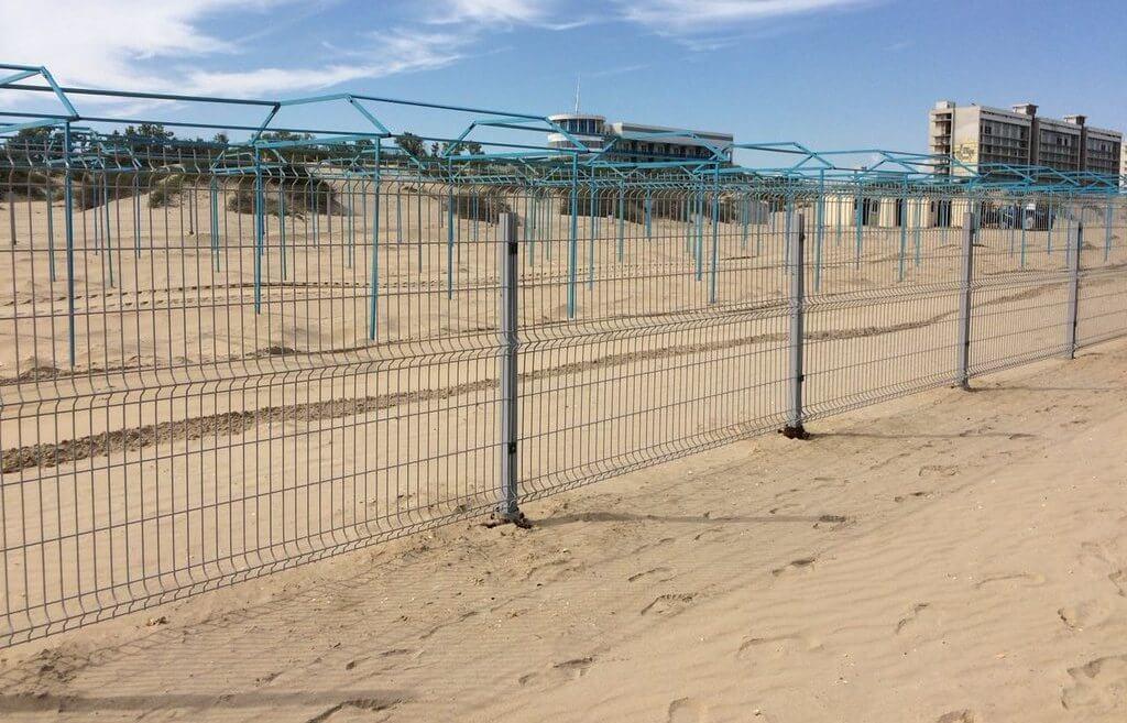 Фото пляжа санатория «Мечта»