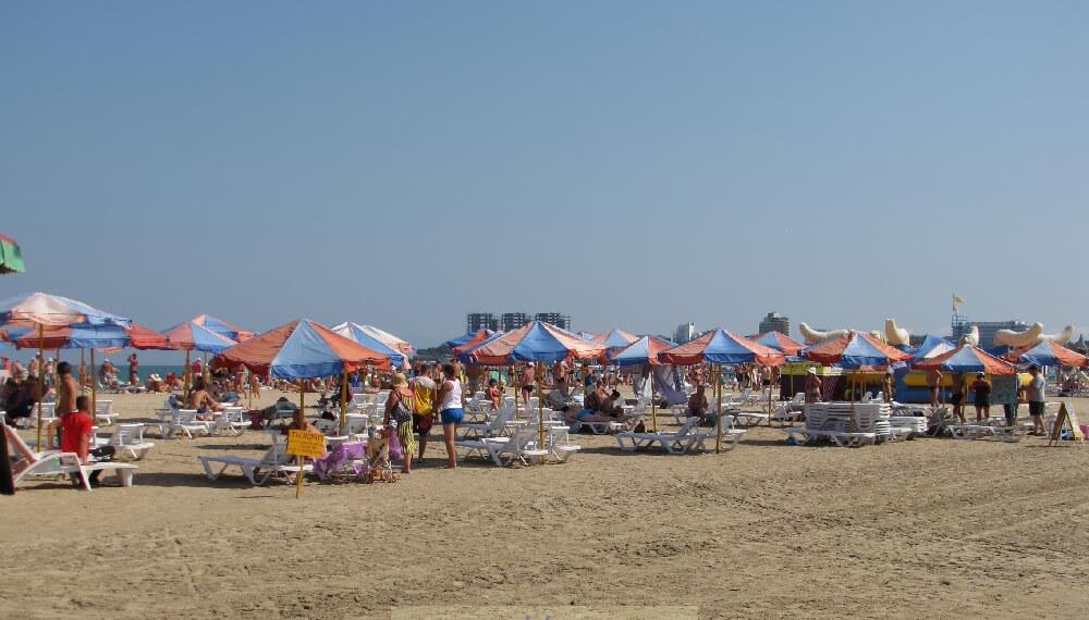 Фото пляжа санатория «Спутник»