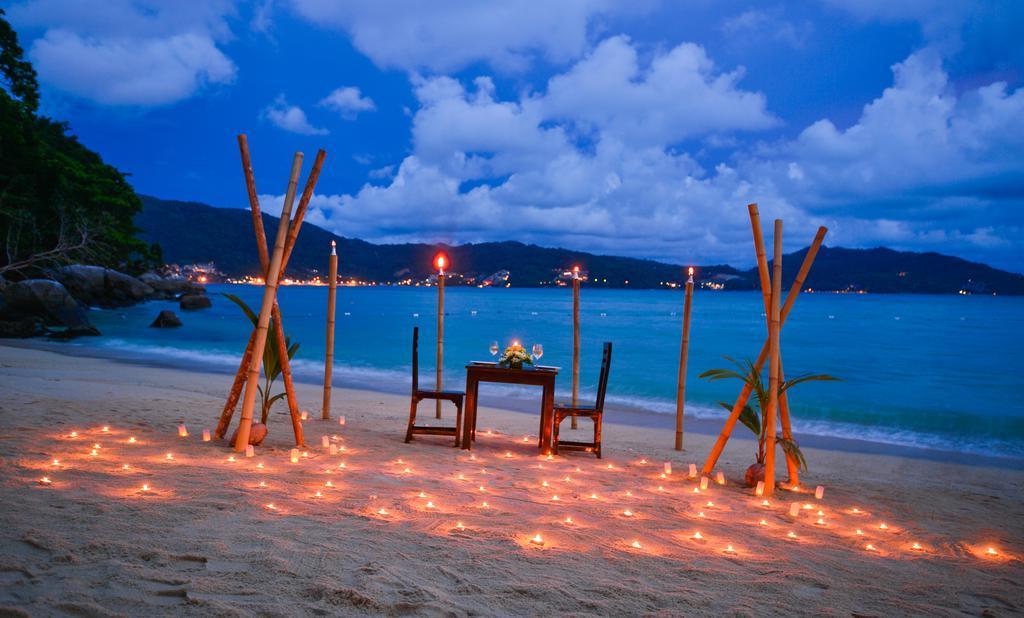 Ужин на пляже Три Транг