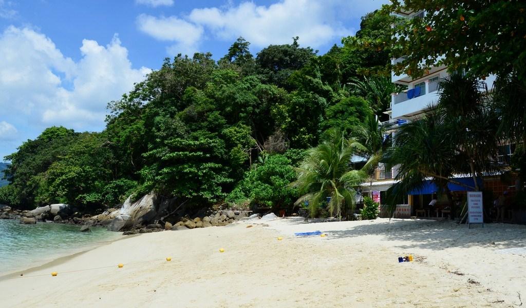 Фото пляжа Три Транг возле отеля Tri Trang Beach Resort