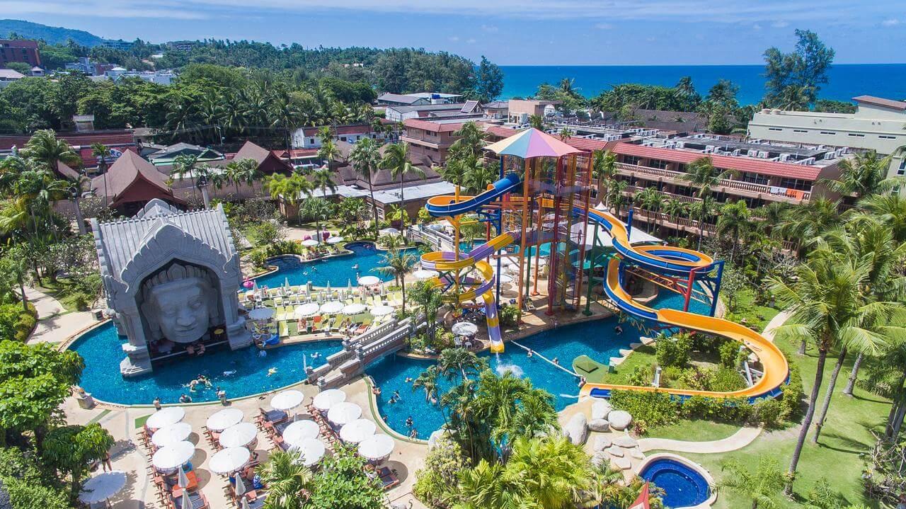 Фотография аквапарка в Орхидея Пхукет Отель