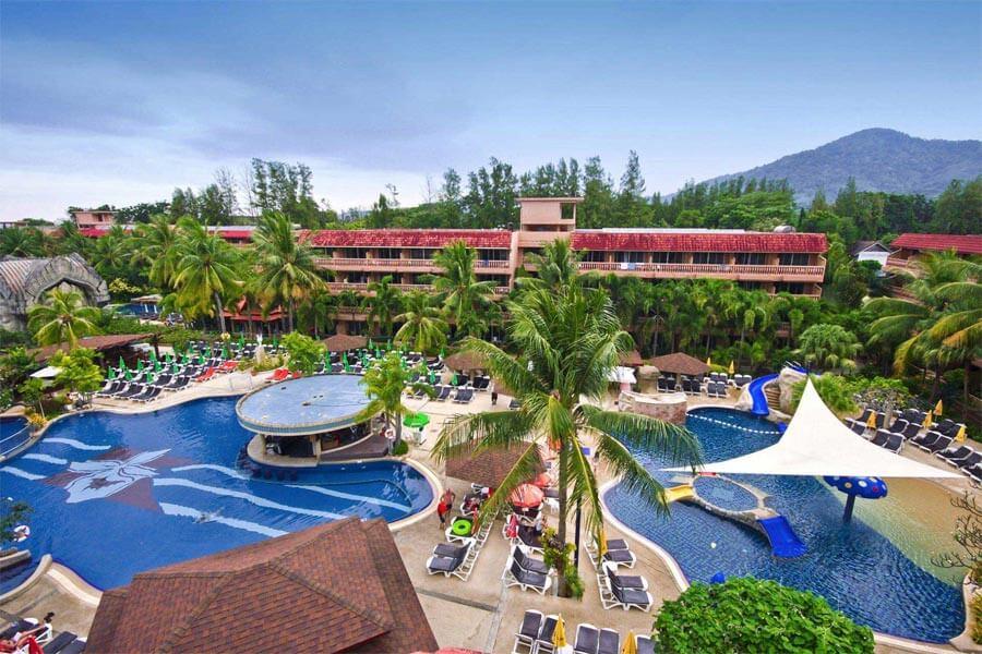 Бассейны при отеле Orchid Resort 4* (Таиланд, Пхукет)