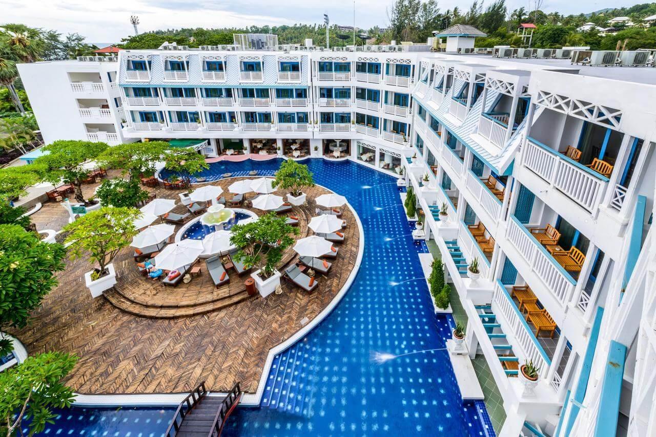 Фото бассейна в отеле