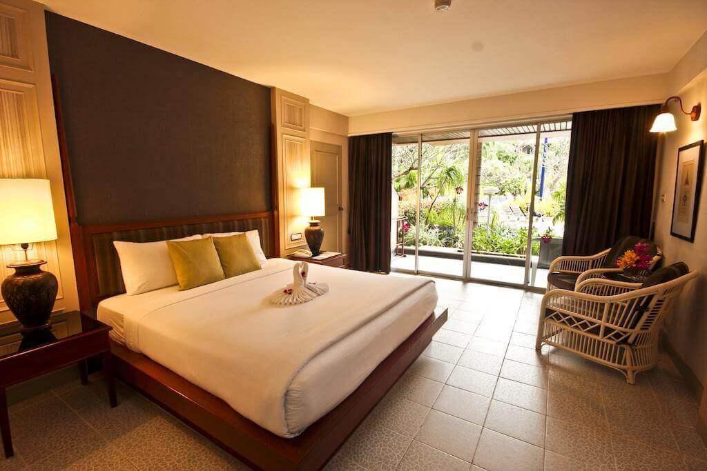 Вид на номер в гостинице Orchid Resort 4*