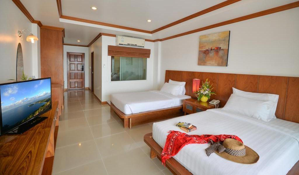 Снимок с изображением номера в отеле Три Транг