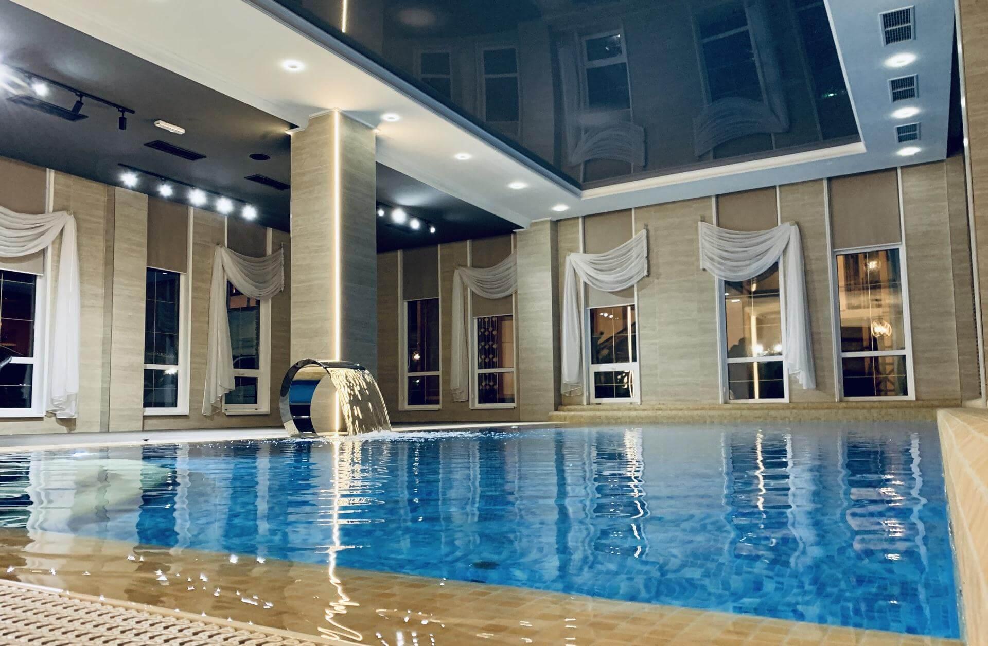 Фотография бассейна в Грейс Империал Сочи