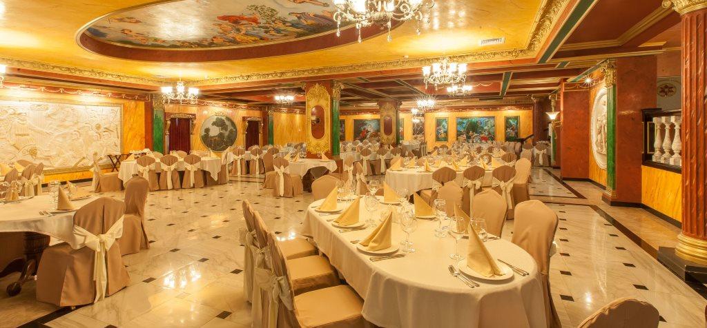 Фото банкетного зала в отеле Mano (Казань)