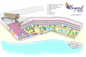 Схема отеля Beyond Resort Karon (Пхукет)