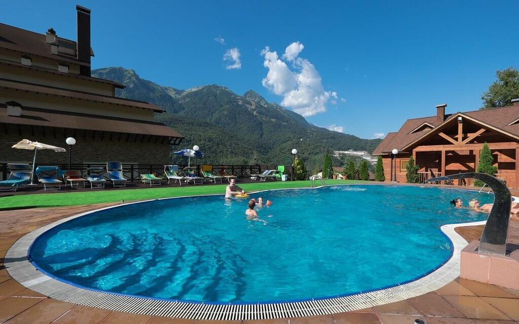 «Беларусь» (3 звезды) - гостиница с открытым бассейном в горах Сочи