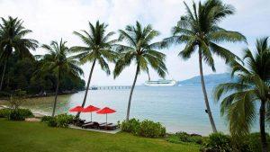 фото пляжа отеля Amari Phuket