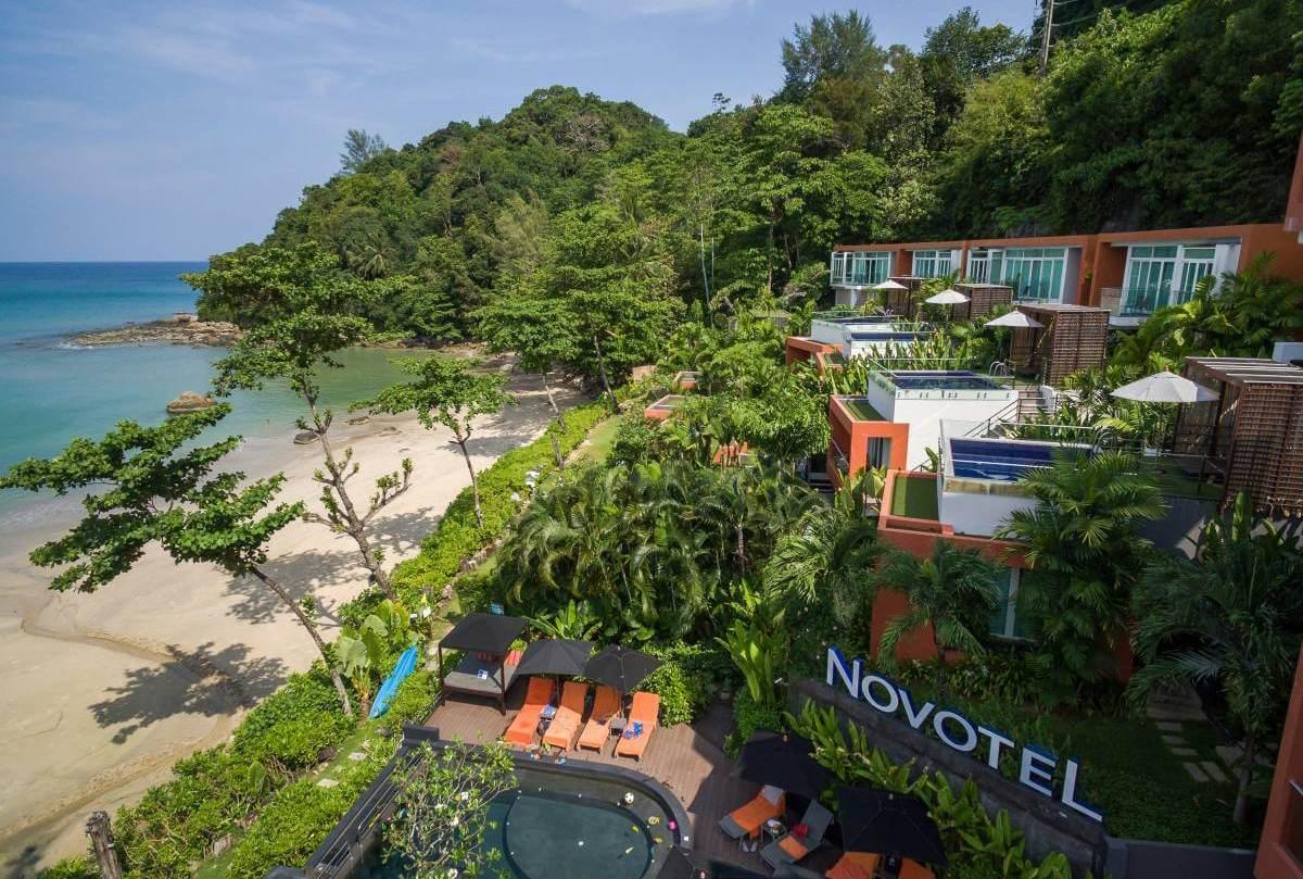 фото бассейна в отеле Novotel Phuket Kamala Beach
