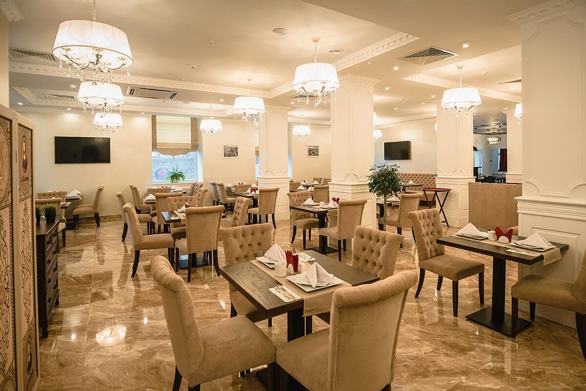 НГ в московском ресторане la Gioconda