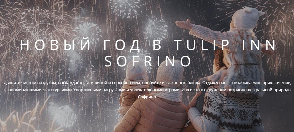 Новый год в Подмосковье, в Софрино