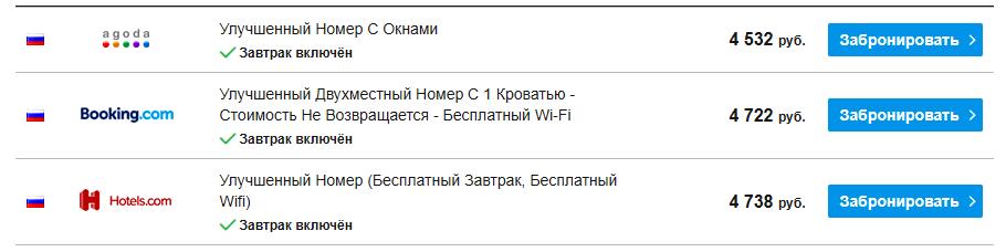 Скриншот сайта RoomGuru