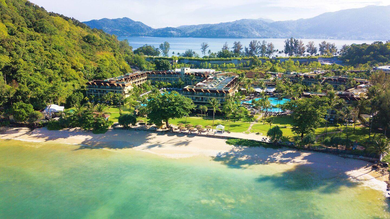 Фотография с изображением резорта Phuket Marriott Resort & Spa, Merlin Beach