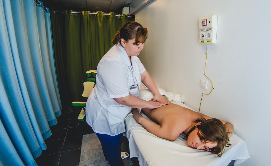 Фото лечебных процедур в санатории «Анапа Океан»