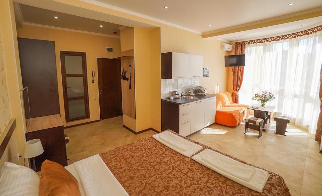 Фото апартаментов в отеле «Близнецы» в Адлере