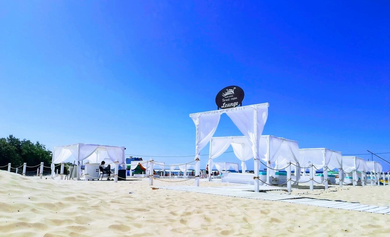 «Белый пляж» в Джемете