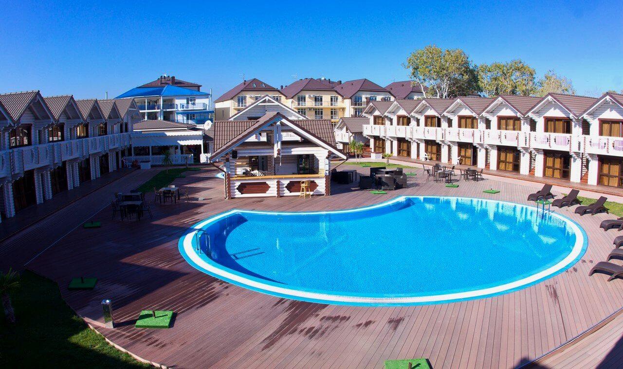 """Фото клубного отеля """"Белый пляж"""" в Анапе"""