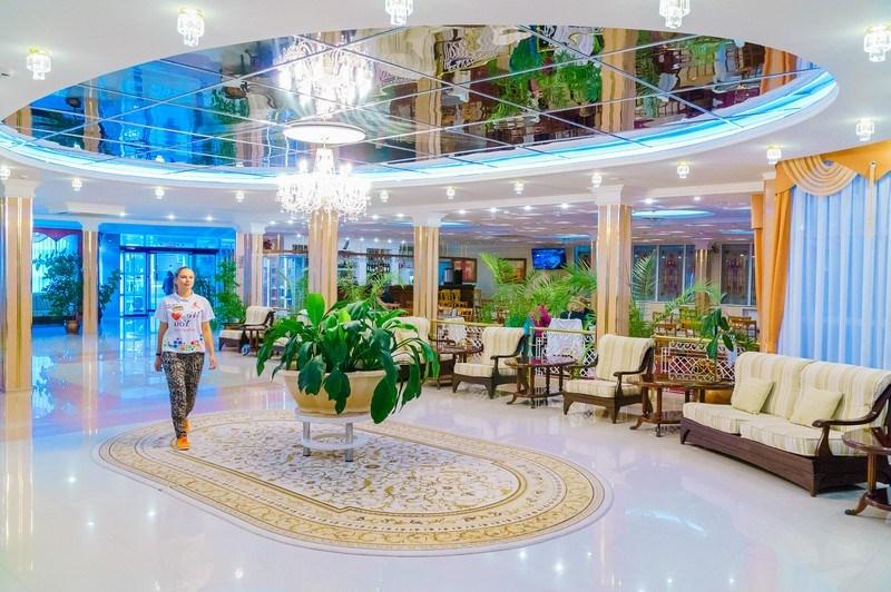 Фото интерьера пансионата «Урал» в Анапе