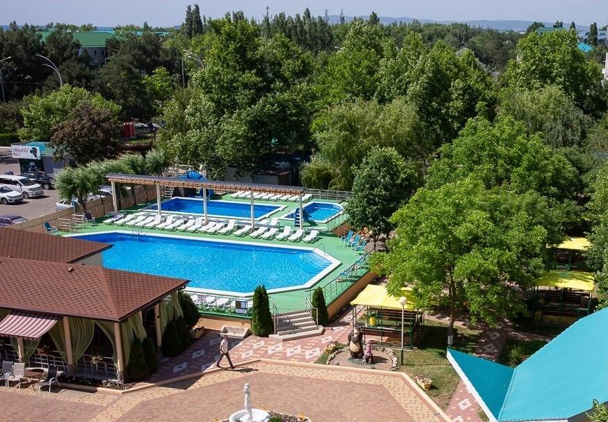 Фотография бассейнов в Пансионате «Южный Парус» (Анапа)