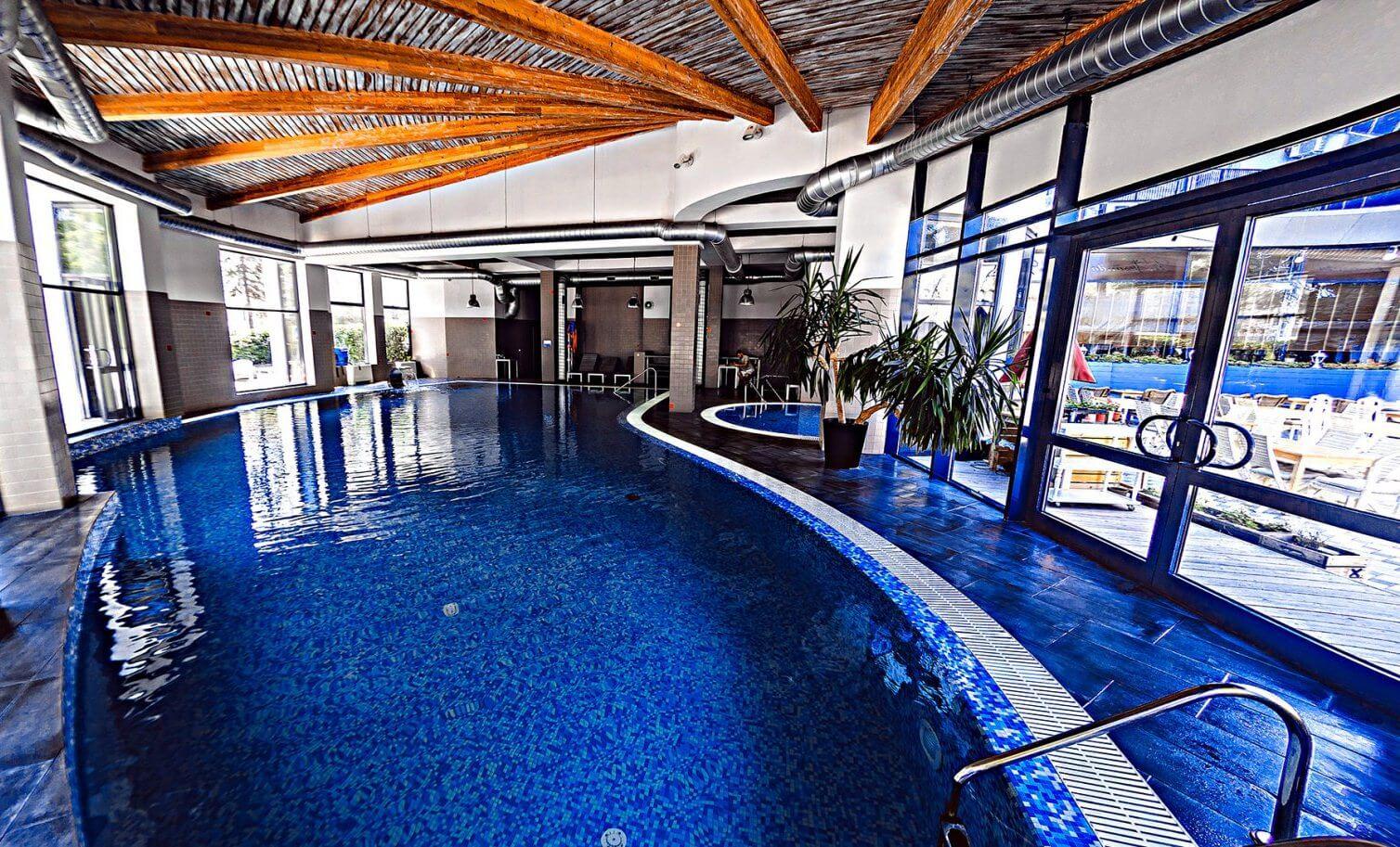 подогреваемый бассейн в санатории «Анапа Океан»