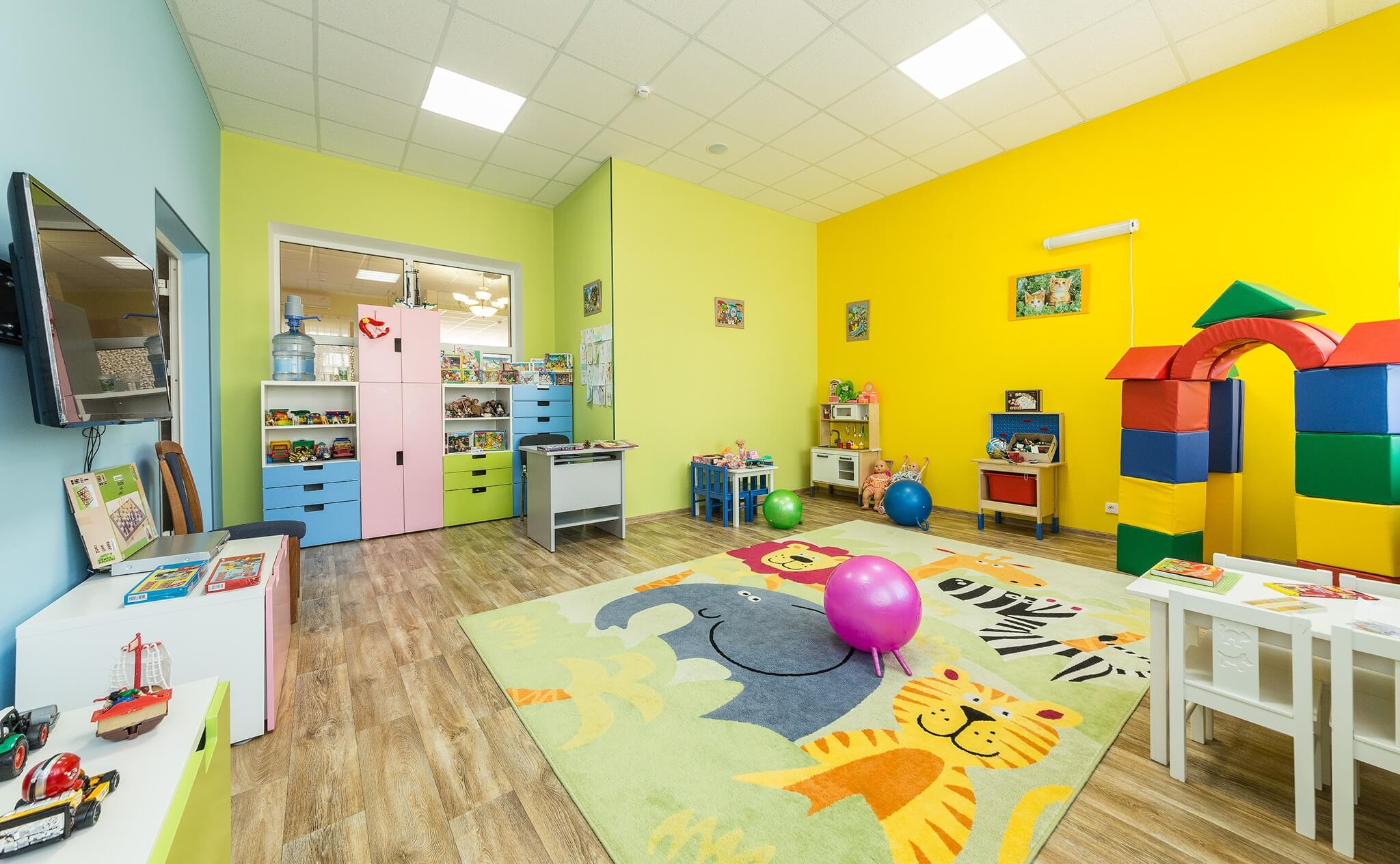 Фото детской комнаты в санатории «БФО»