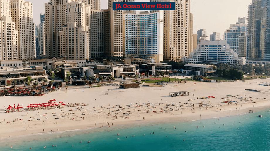 JA Ocean View Hotel - отель 5* на пляже в Дубай Марина