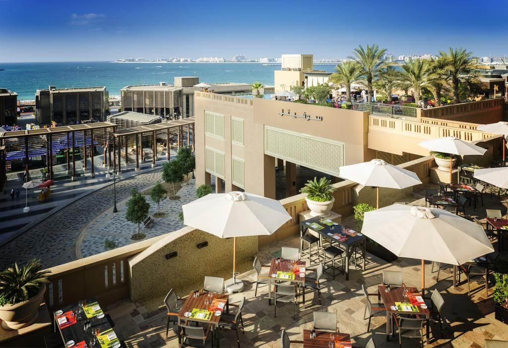 Отель Sofitel на берегу моря в Дубай Марина