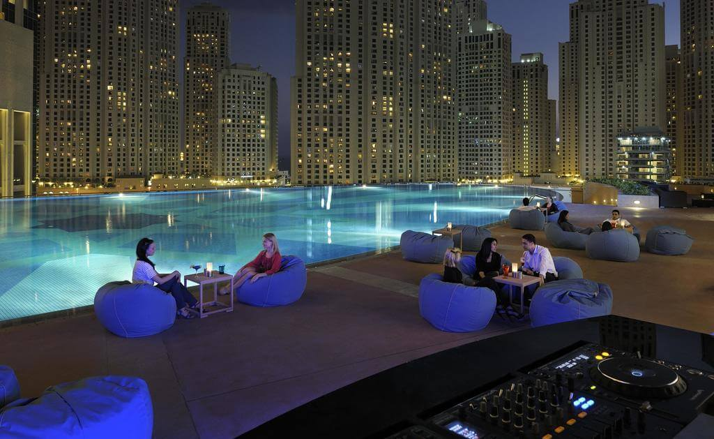 Фото отеля The Address Dubai Marina Hotel 5*