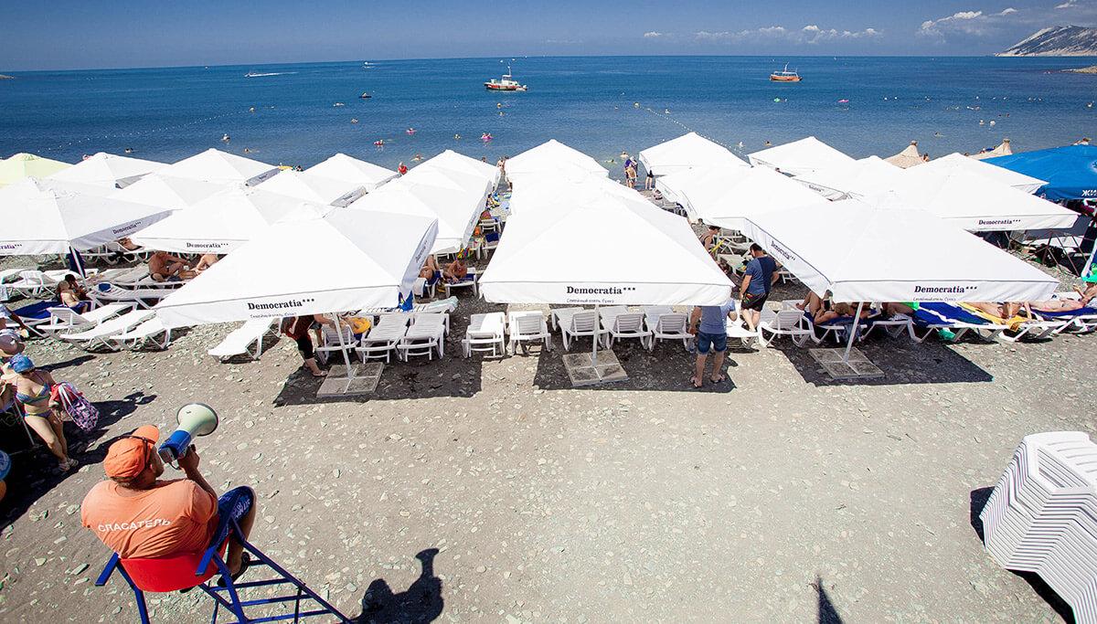 Фотография пляжа Democratia в Сукко
