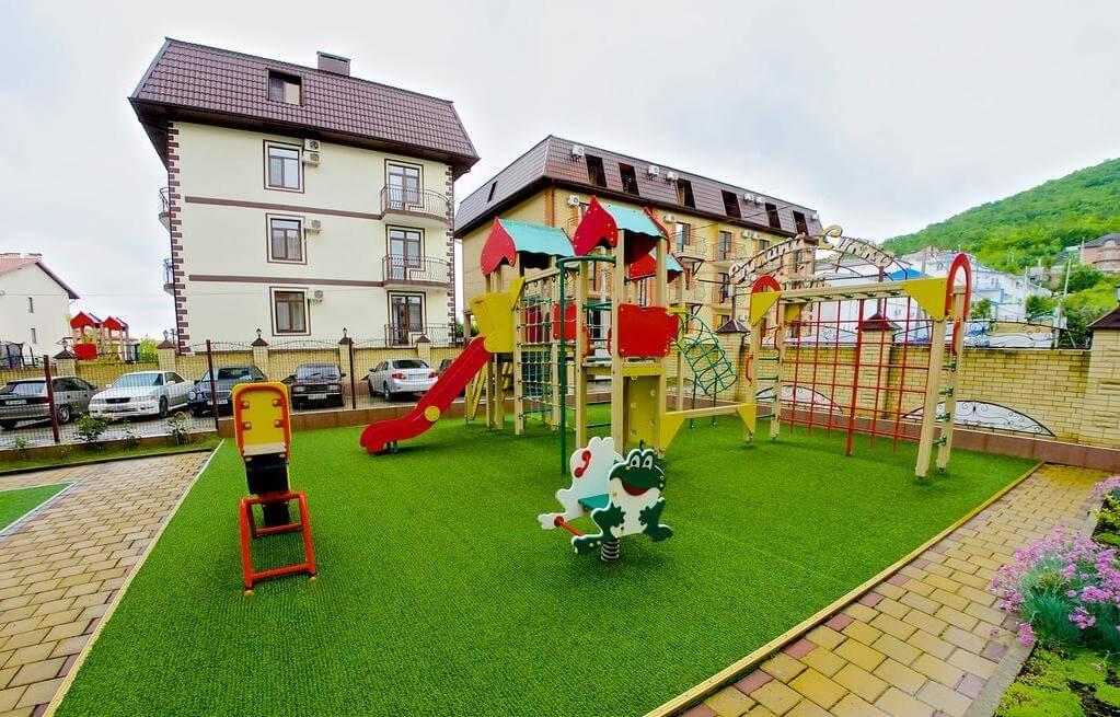 Детская площадка в отеле HELIOPARK Aqua Resort (3 звезды)