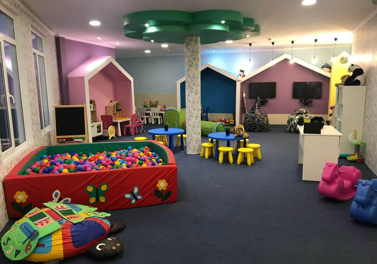 Игровая комната в гостинице МОРЕМИ (Сукко)